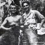 <b>Mouvement contre révolutionnaire, septembre 1959 </b> <br /> Peter Lambton et Fernando Pruna, Montagnes de Pinar del Rio